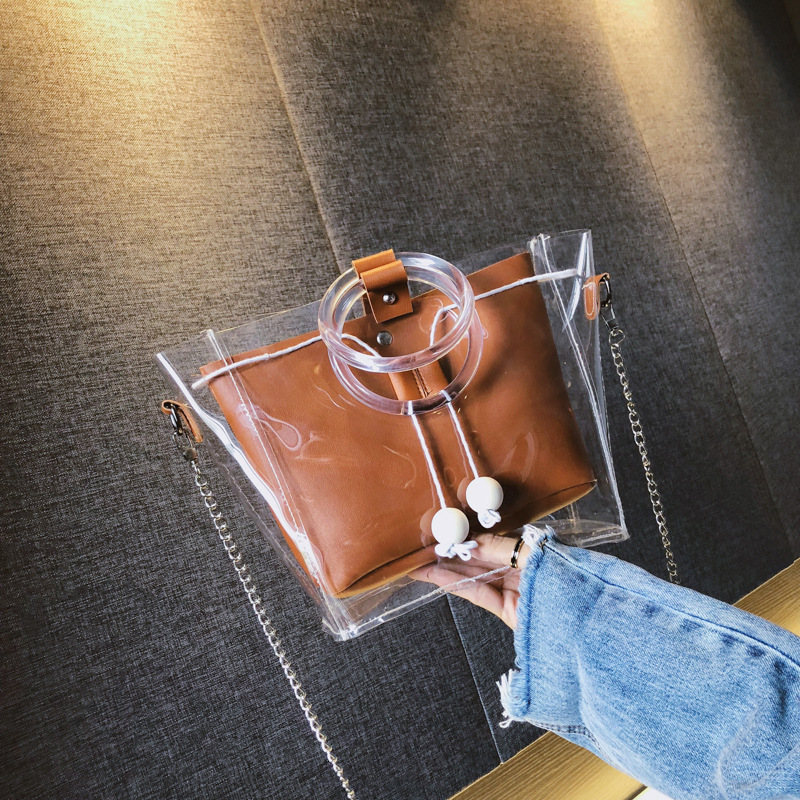 Chic Mikaela Transparent Handbag for Matching Summer Outfits