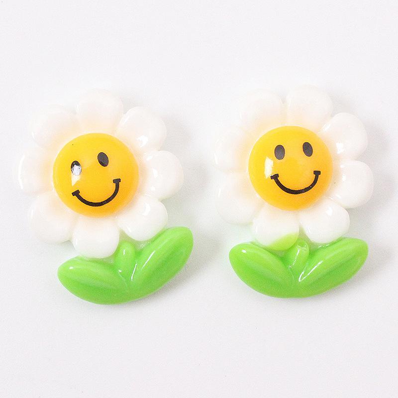 Happy Sunflower Fridge Magnet for Giveaways