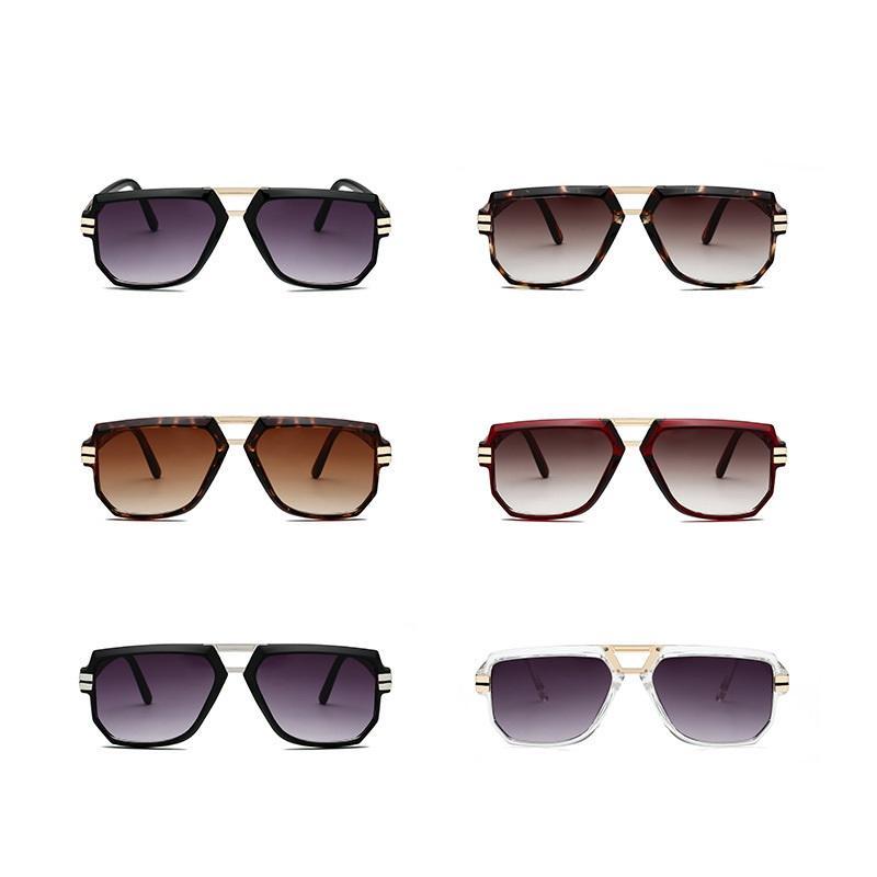 Warde Rectangular Sunglasses