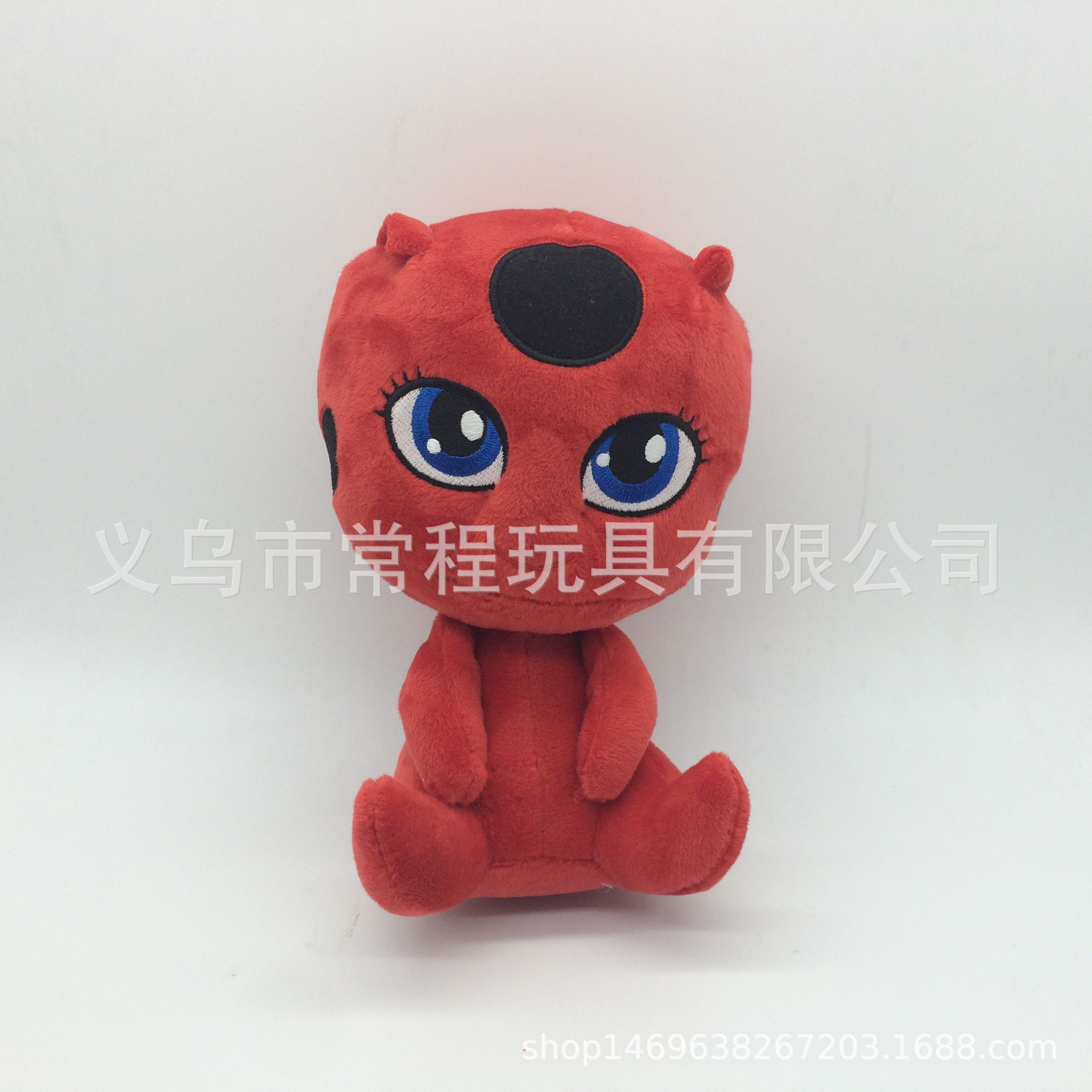 Fluffy Polypropylene Cotton Doll Keychain for Bag Accessories