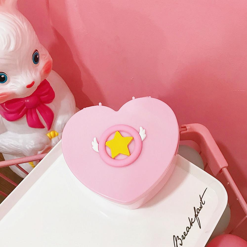 Pinky Heart Jewelry Box