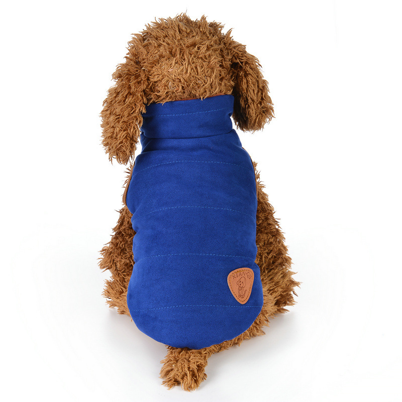 Cozy and Colorful Pet Clothes for Cold Weathers