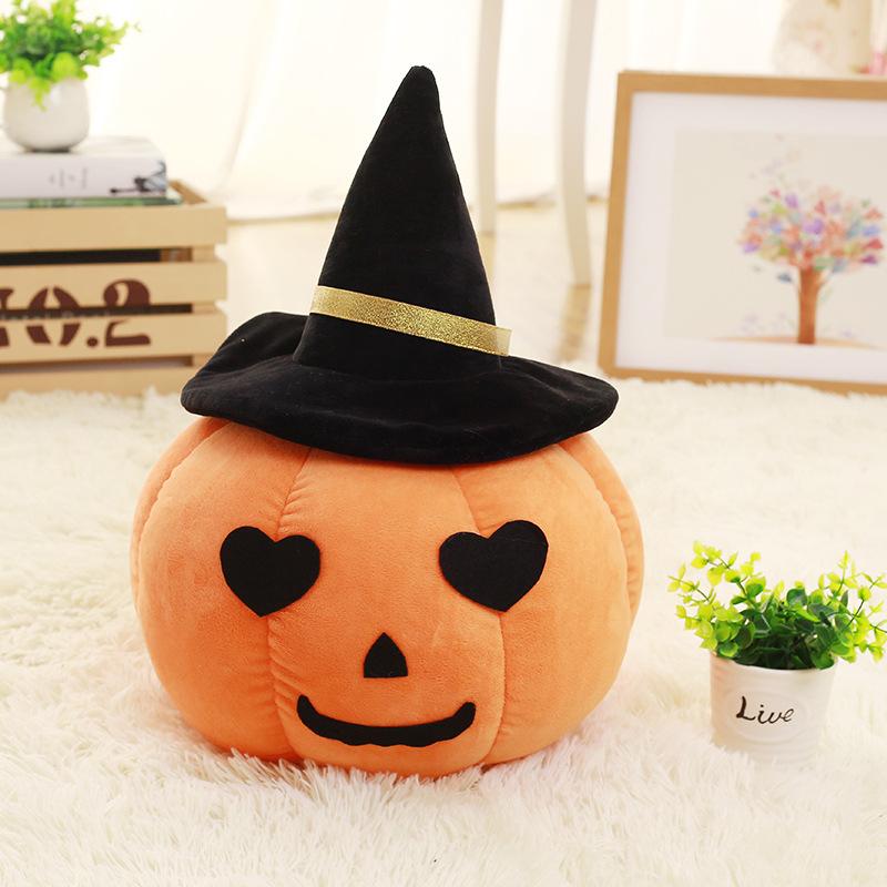 Stuffed Pumpkin Plushies for Halloween