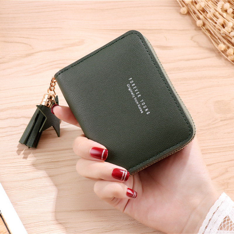 Classy Faux Leather Coin Purse for ATM Cards