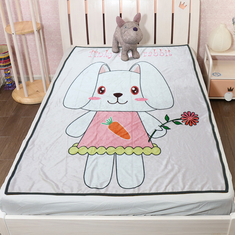 Cute Animals Blanket for Afternoon Naps