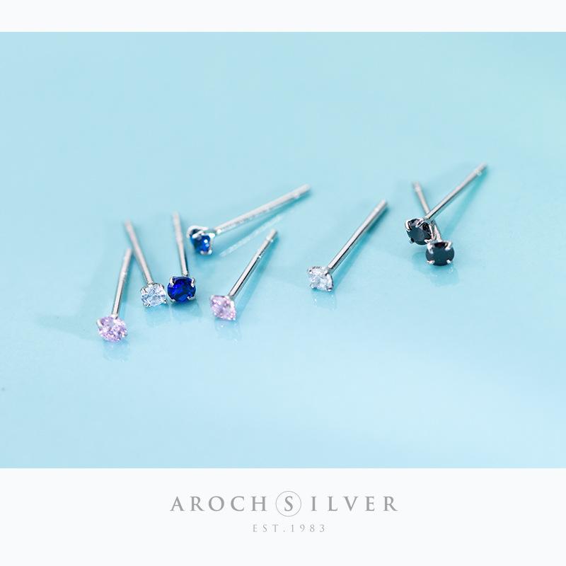 Minimalist Faux Diamond Stud Earrings for Everyday Wear