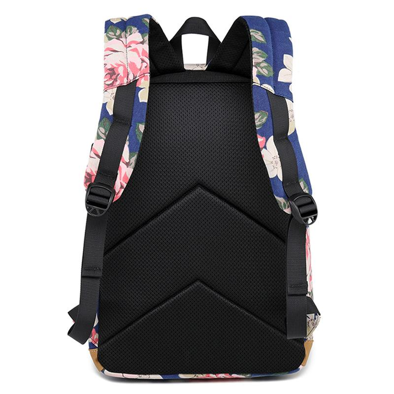 Floral Scholar's Backpack