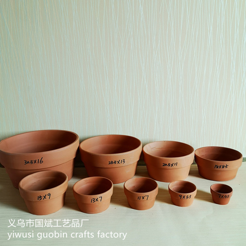 Plain and Simple Ceramic Flower Pot for Indoor and Outdoor Plants