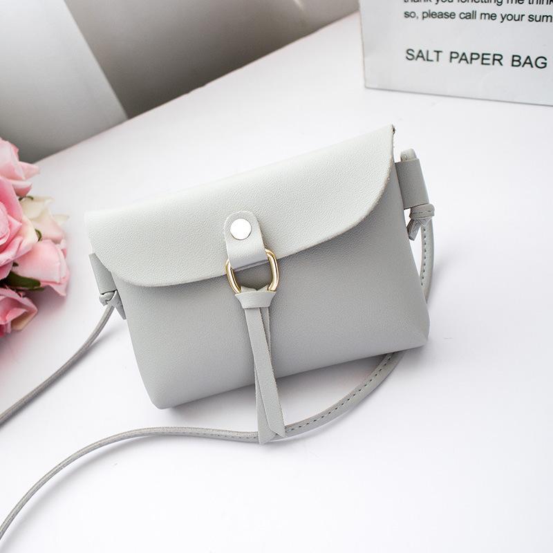Minimalist Oblique Cross Bag for Formal Attire