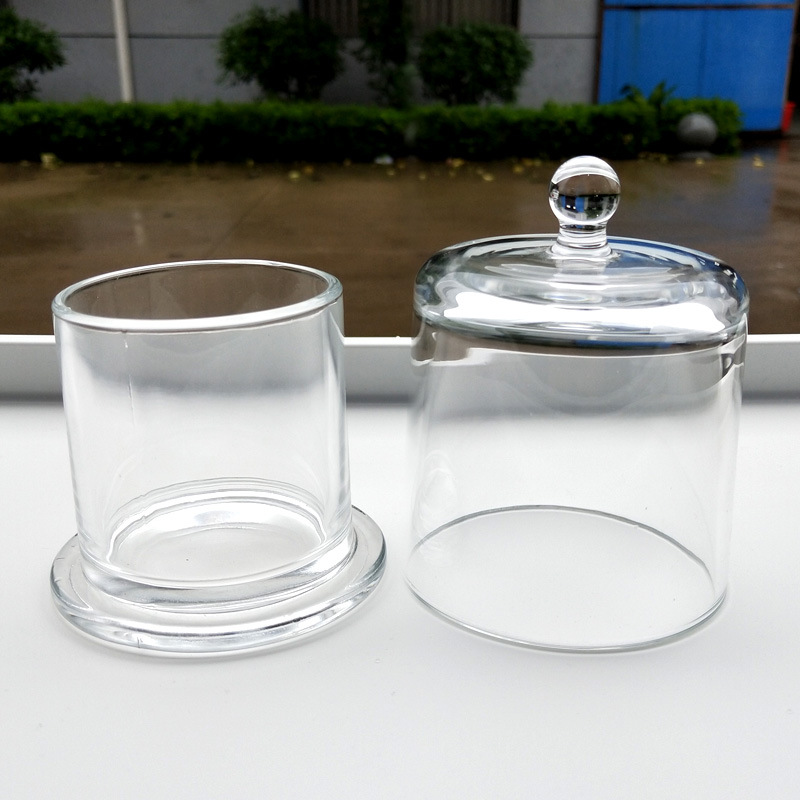Smooth Glass Jar for Holding Tiny Trinkets