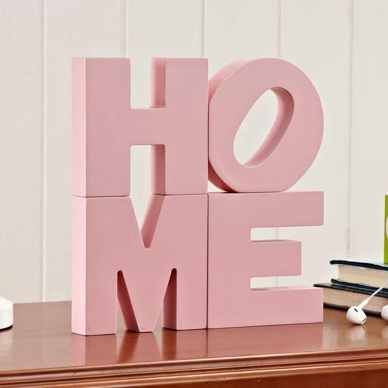 Minimalist HOME Wooden Decor for Children's Room