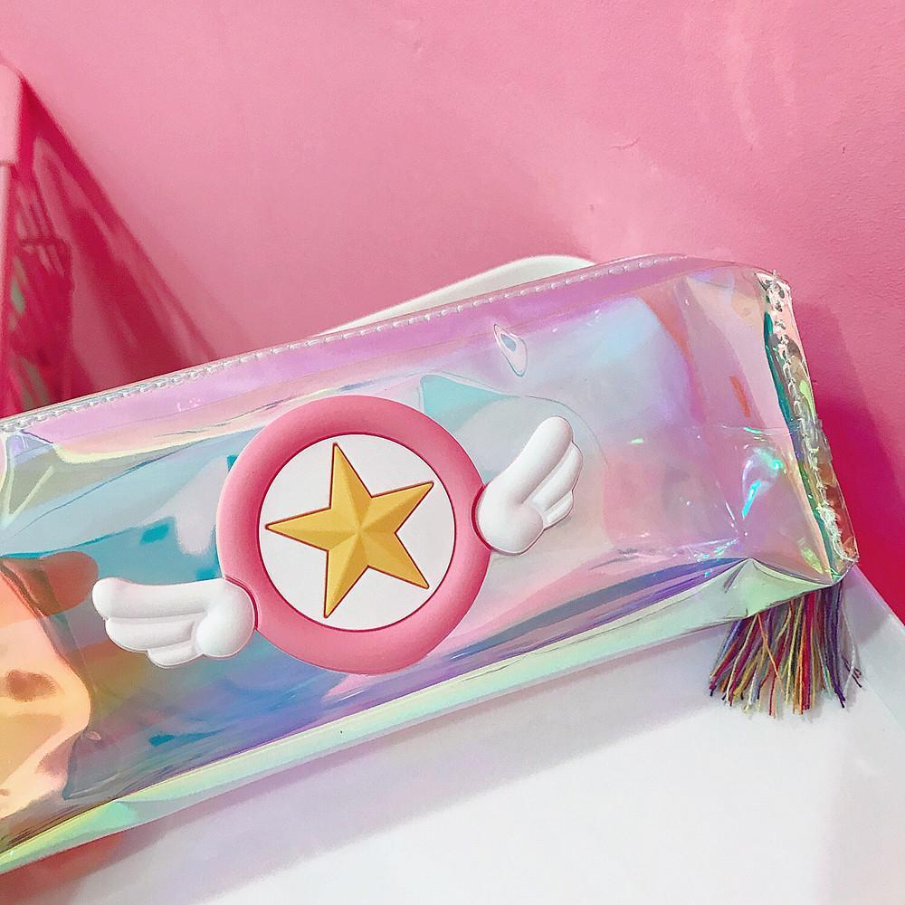 Sakura's Star Tassel Pencil Case