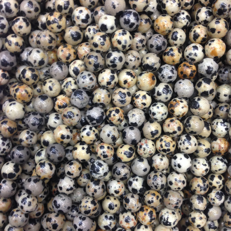 Speckled Stone Beads