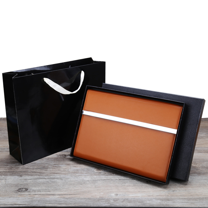 Multifunctional Polyurethane Leather Folder for Office Workers