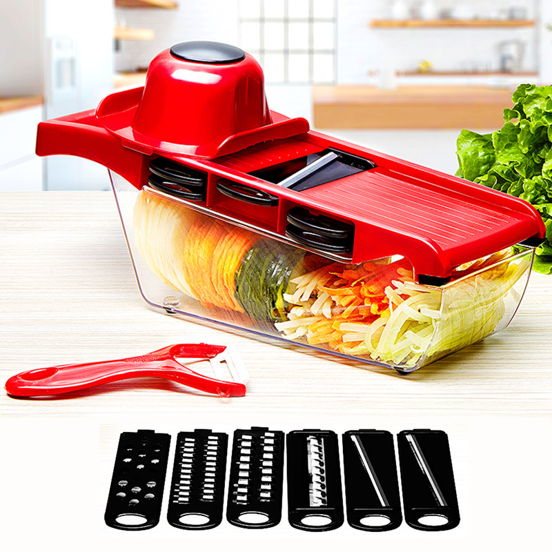 Durable Two-Toned Vegetable Cutter for Easy Cooking