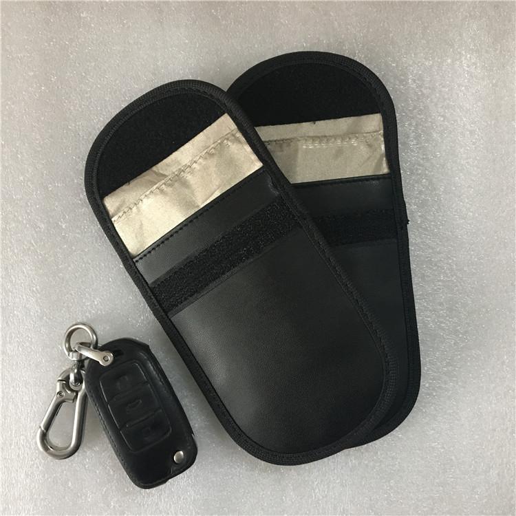 Sleek RFID Shield Key Bag for Preventing Radiation Signal