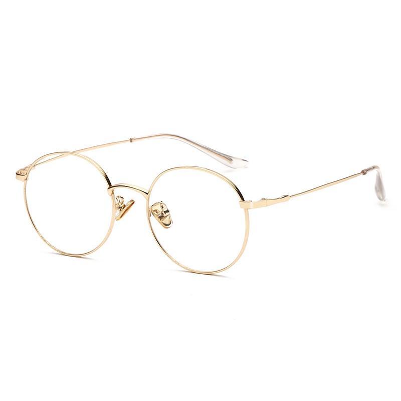 Metal Round Eyeglasses