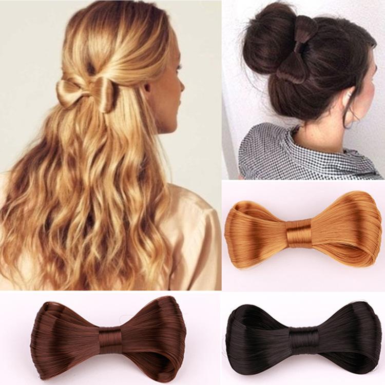 Wig Bow Ribbon Hairclip for Hair Updos