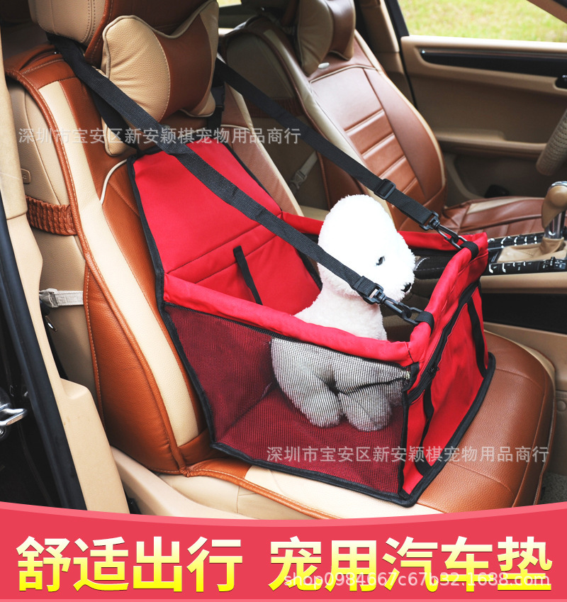 Breathable Spacious Car Pet Mats for Road Trip