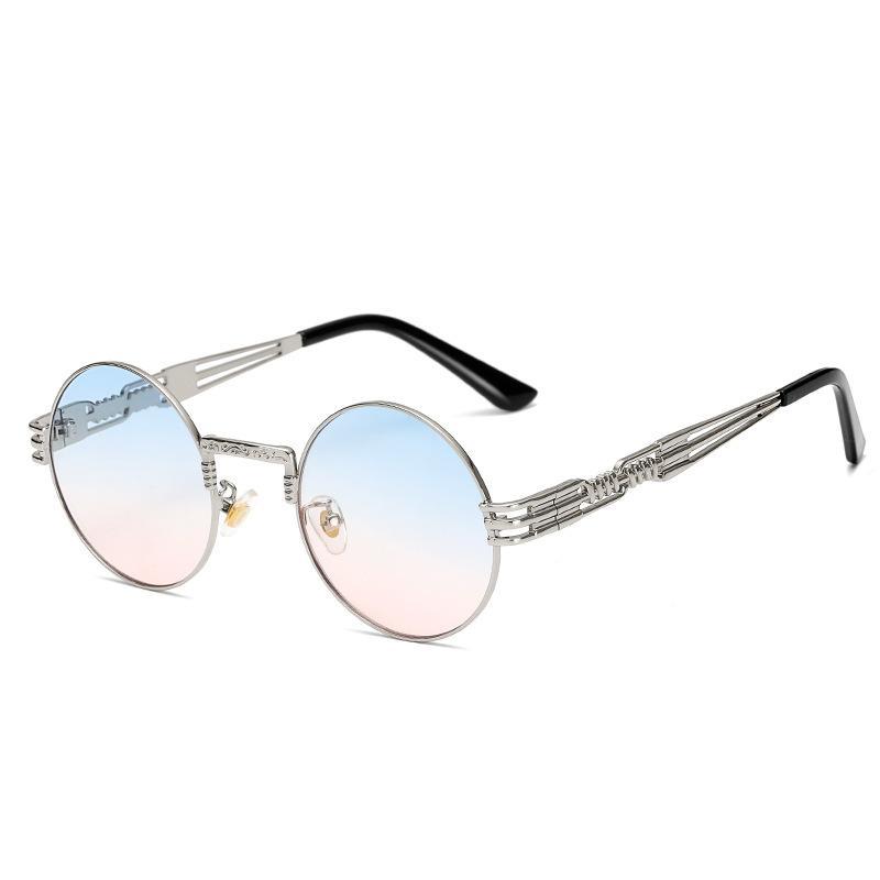 Punk Round Sunglasses