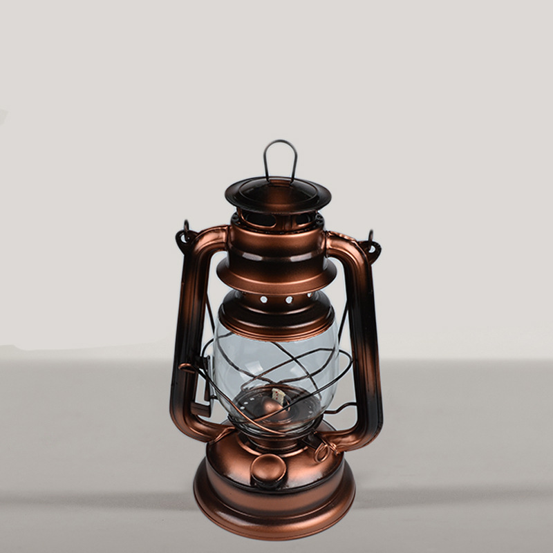 Vintage Portable Kerosene Lamp for Outdoor Camping