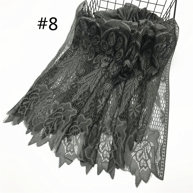Intricate Lace Scarf for Summer Ensembles