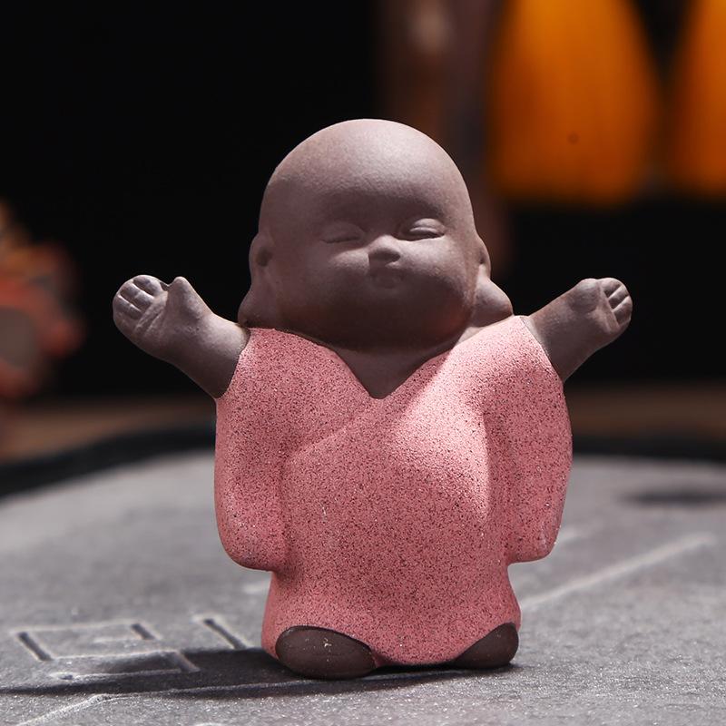 Happy Little Monk Decor for Tea Parties