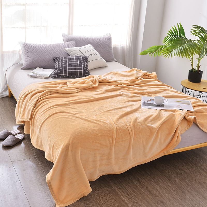 Ilana Colored Polyester Blanket