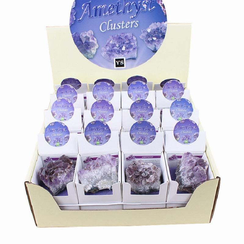 Grape Crystal Geode (Price includes 32 units)