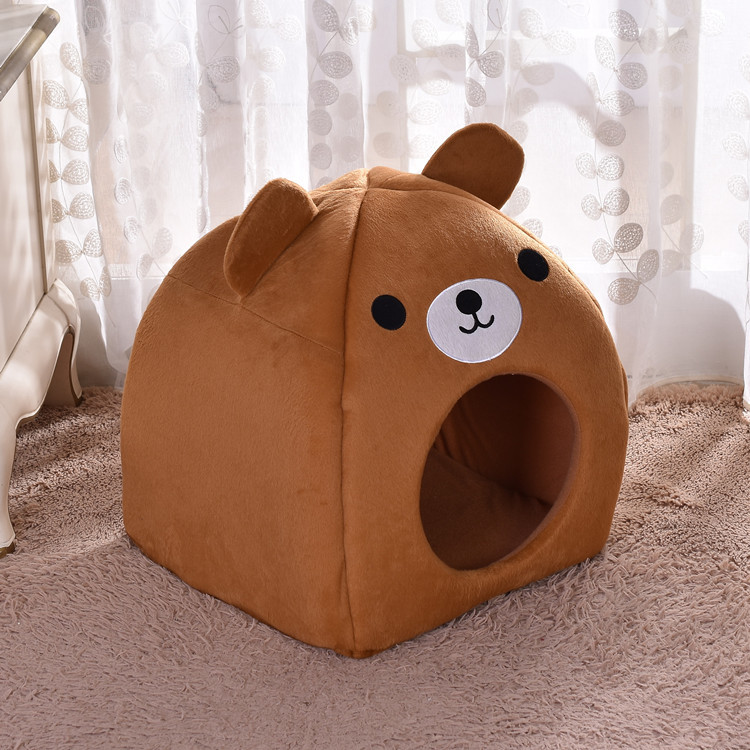 Adorable and Soft Pet Sleeping House for Everyday Use