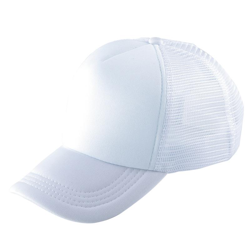 Breathable Mesh Plain Baseball Cap for Outdoors