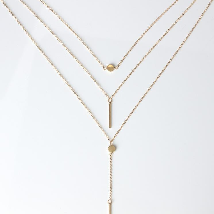 Minimalist and Elegant Multi-Layer Necklace for Women