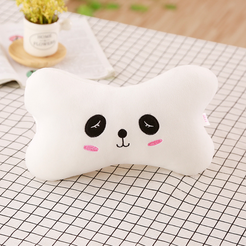 Plush Animal Neck Pillow for Cute Car Decor
