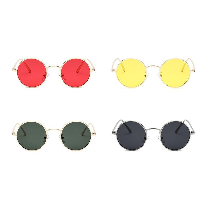 Slim Round Sunglasses