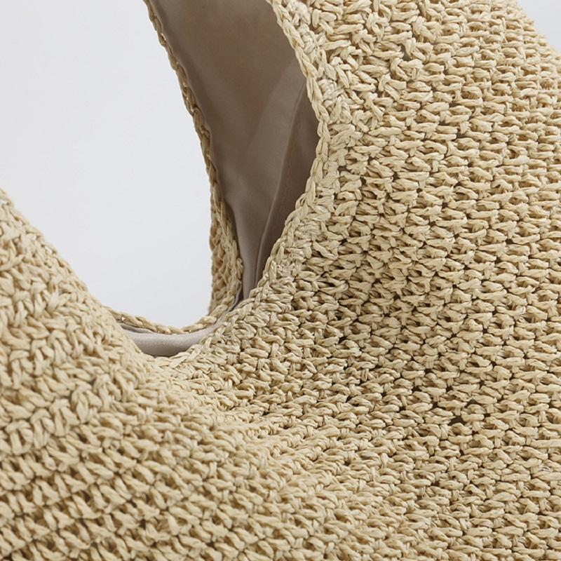 Nature Friendly Straw Bag