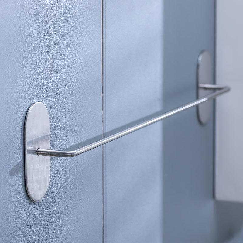 Stainless Steel Door Shoe/Slippers Rack for Bathroom Necessity
