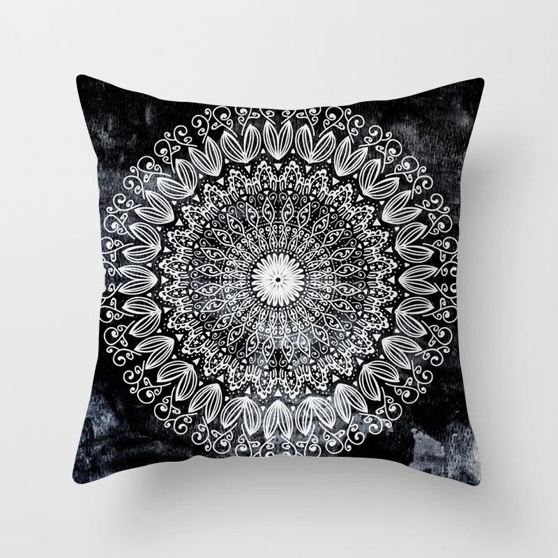 Yvanka Flower Mandala Pillow Case Collection