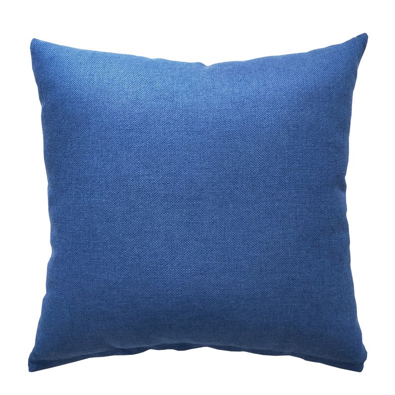 Solid Colored Throw Pillow With or Without Core for Minimalist Sofas