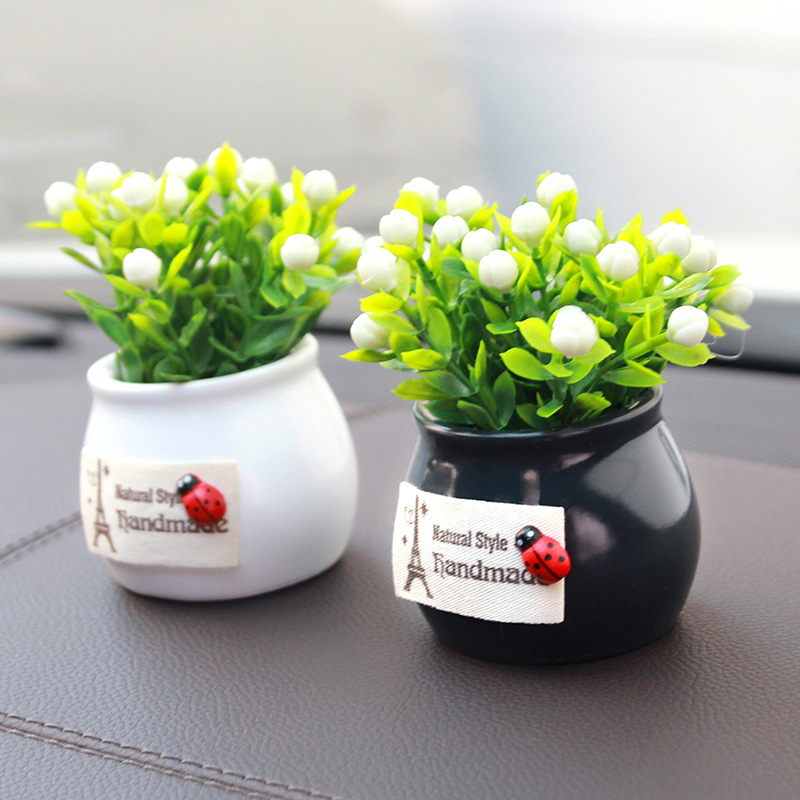 Creative Synthetic Plant for Car Decoration
