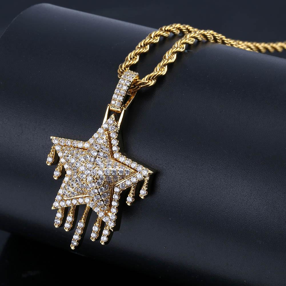 Brilliant Copper Star Pendant Necklace for Date Night