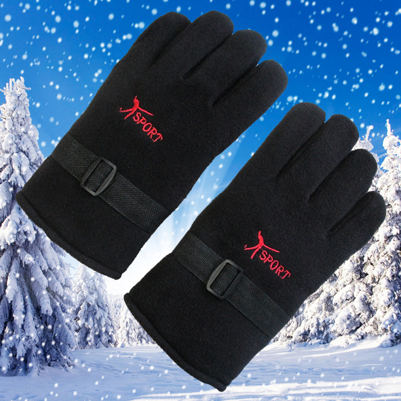 Thick Cotton Gloves for Skiing