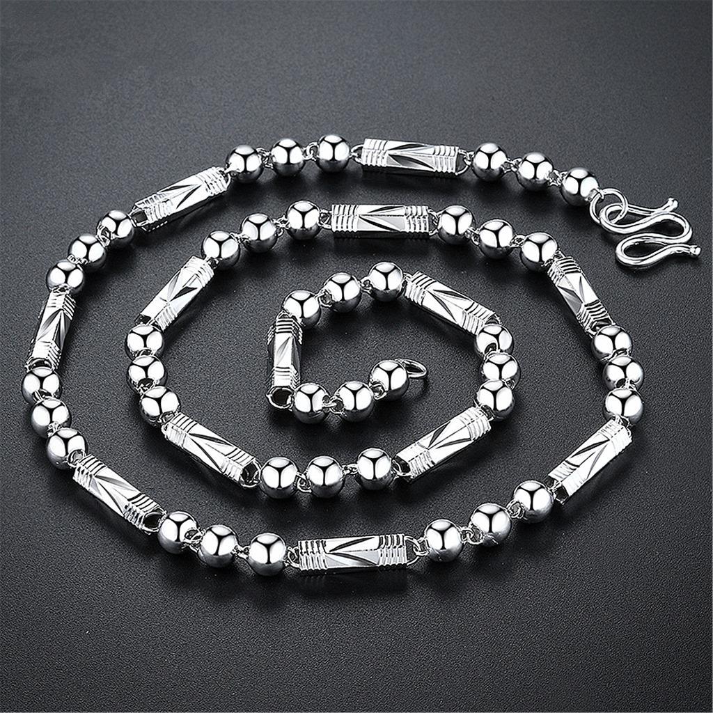 Korean Style Geometric Chain for Men