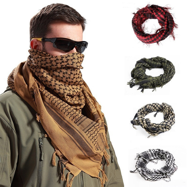 Comfortable and Nice Graphic-Print Scarf for Men's Outdoor Camping