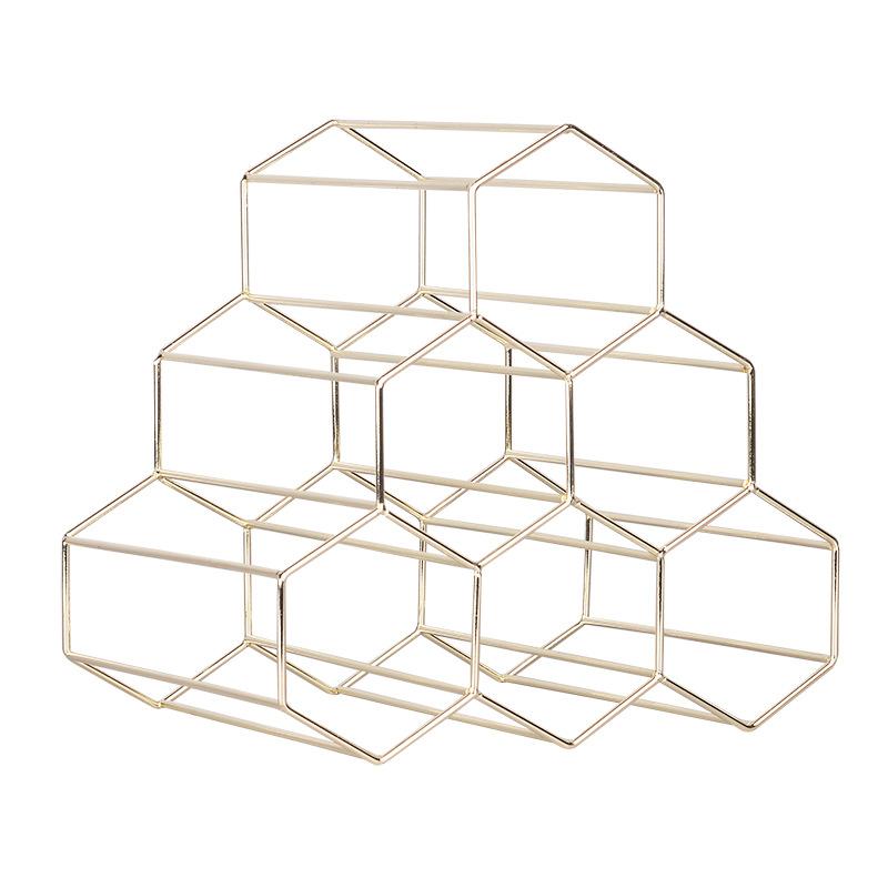 Honeycomb Minimalist Wine Rack