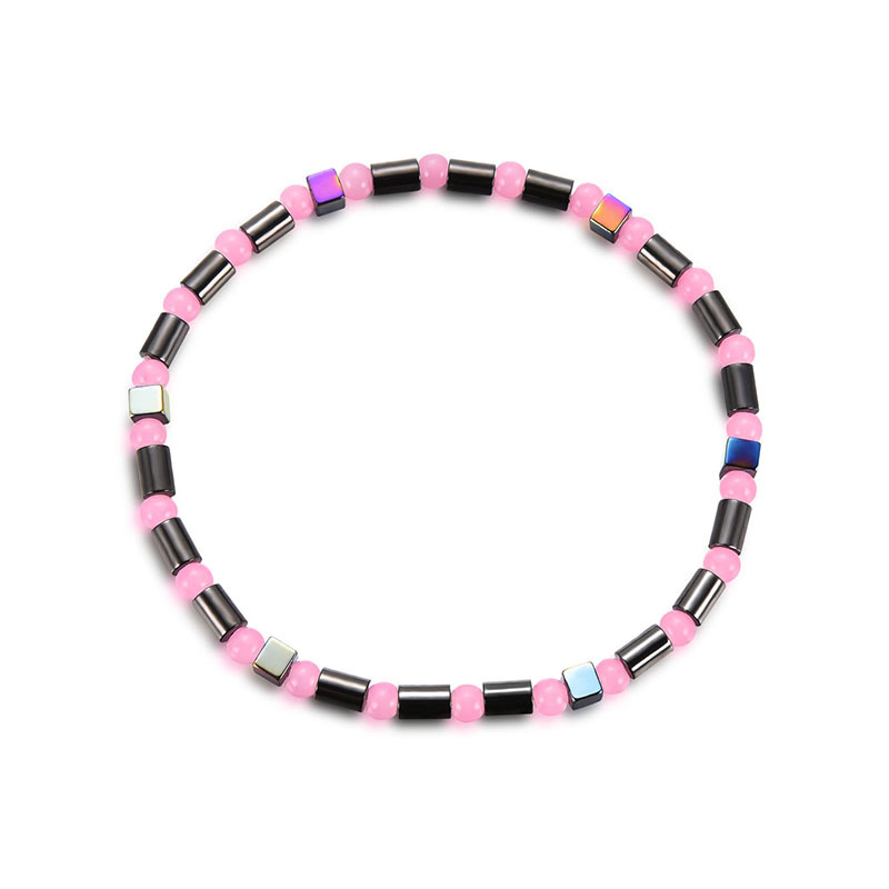 Obsidian Magnetic Beads Anklet for Trendy Fashion Style