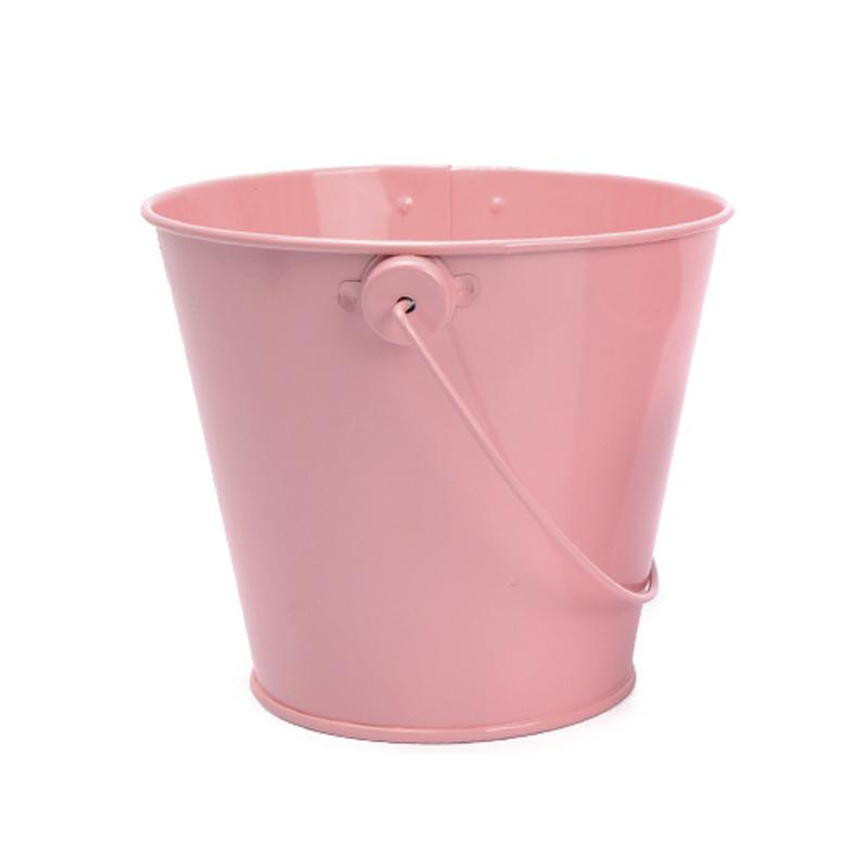 Candy Colored Small Iron Bucket