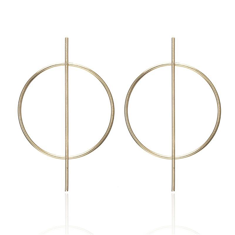 Grafe Hoop Earrings