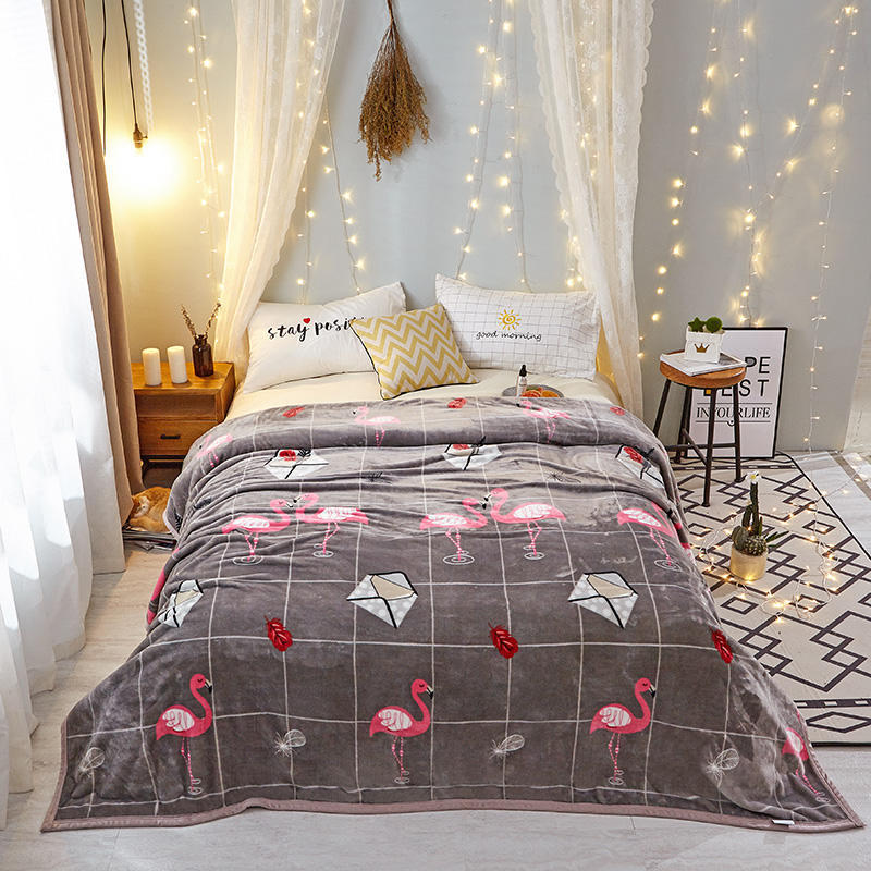Lovely Printed Blankets for Dreamy Bedrooms