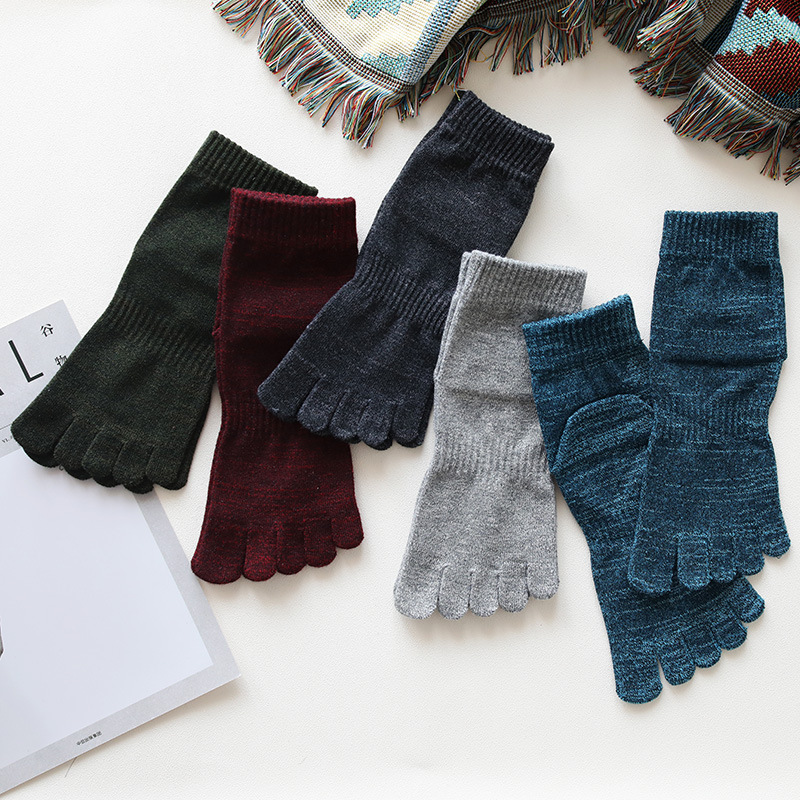 Comfortable Thick Cotton Socks for Men's Wear
