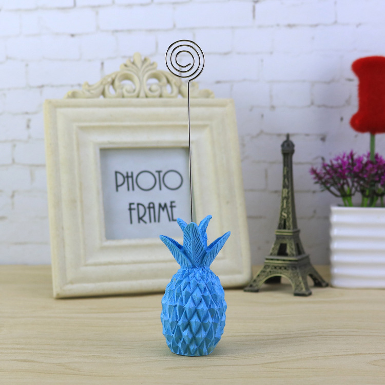 Cute Pineapple Post Card Holder for Office